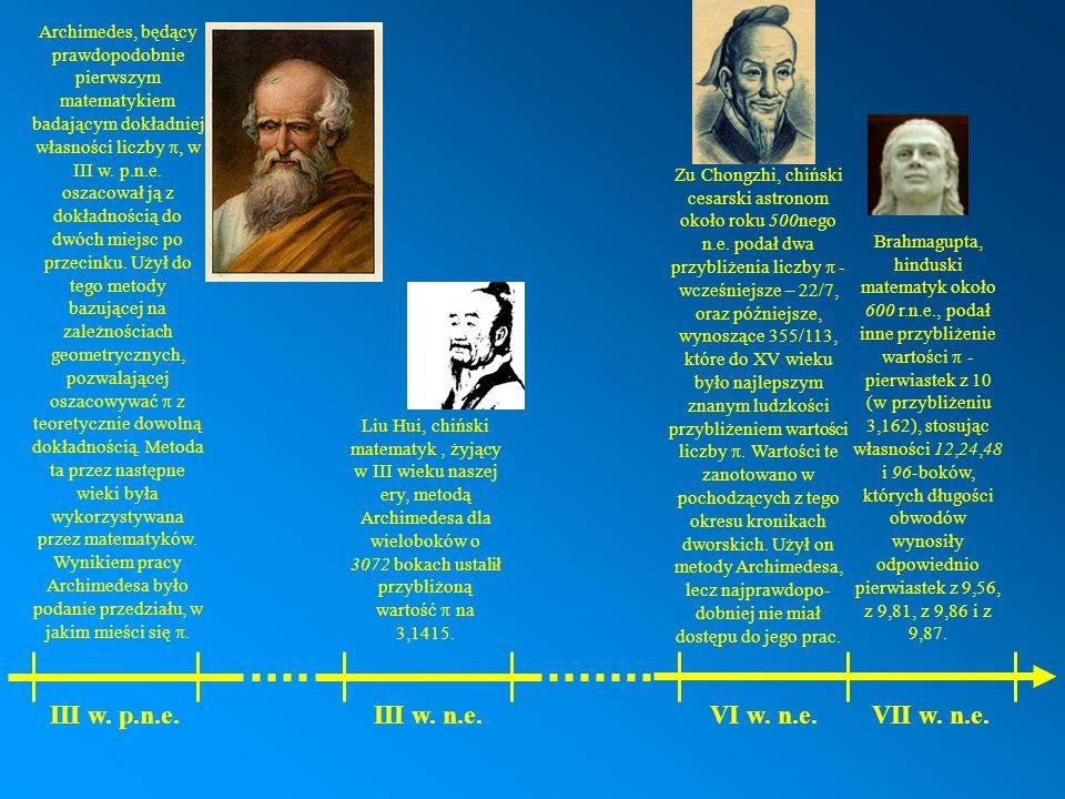 III w. p.n.e. III w. n.e. VI w. n.e. VII w. n.e.