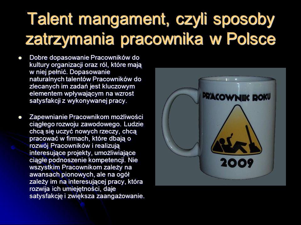 Talent mangament, czyli sposoby zatrzymania pracownika w Polsce