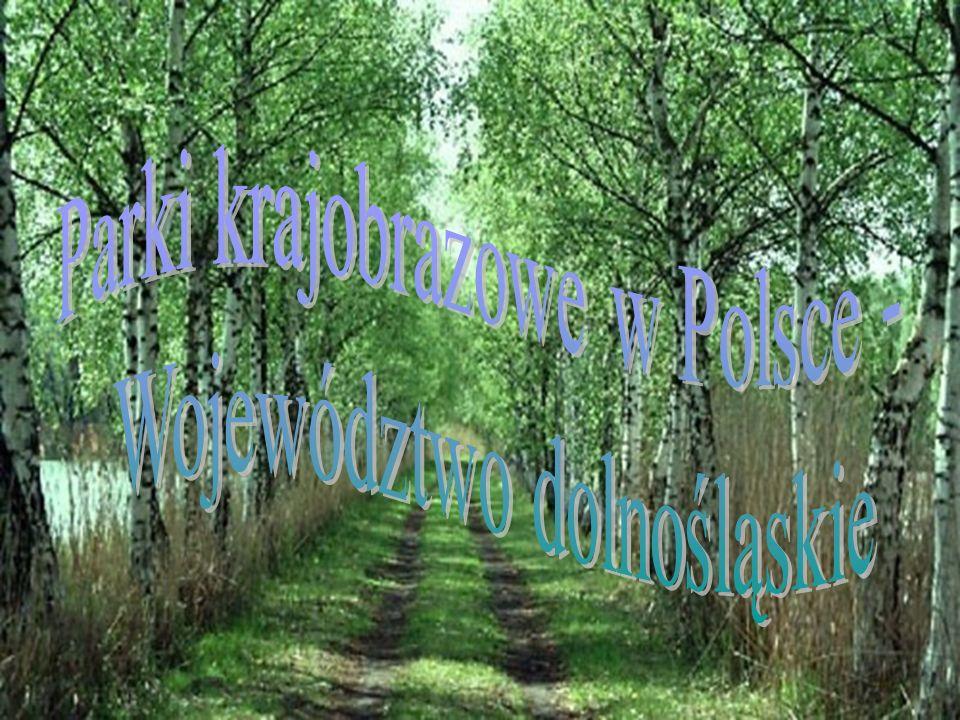 Parki krajobrazowe w Polsce - Województwo dolnośląskie