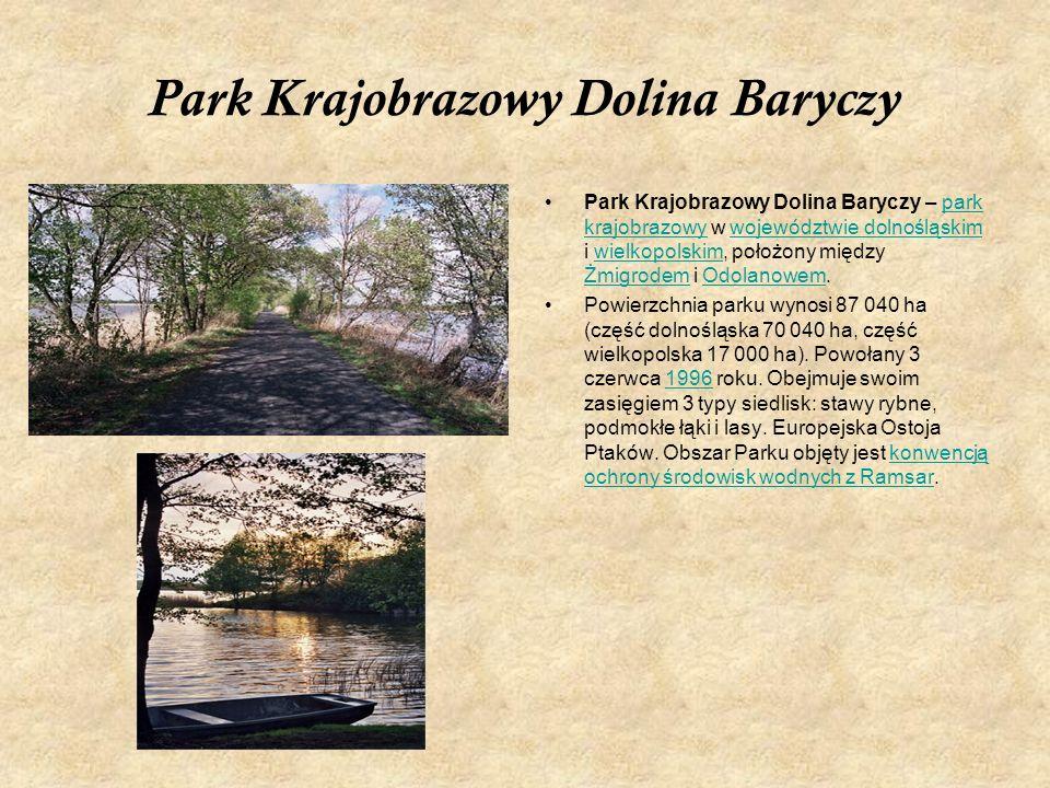 Park Krajobrazowy Dolina Baryczy