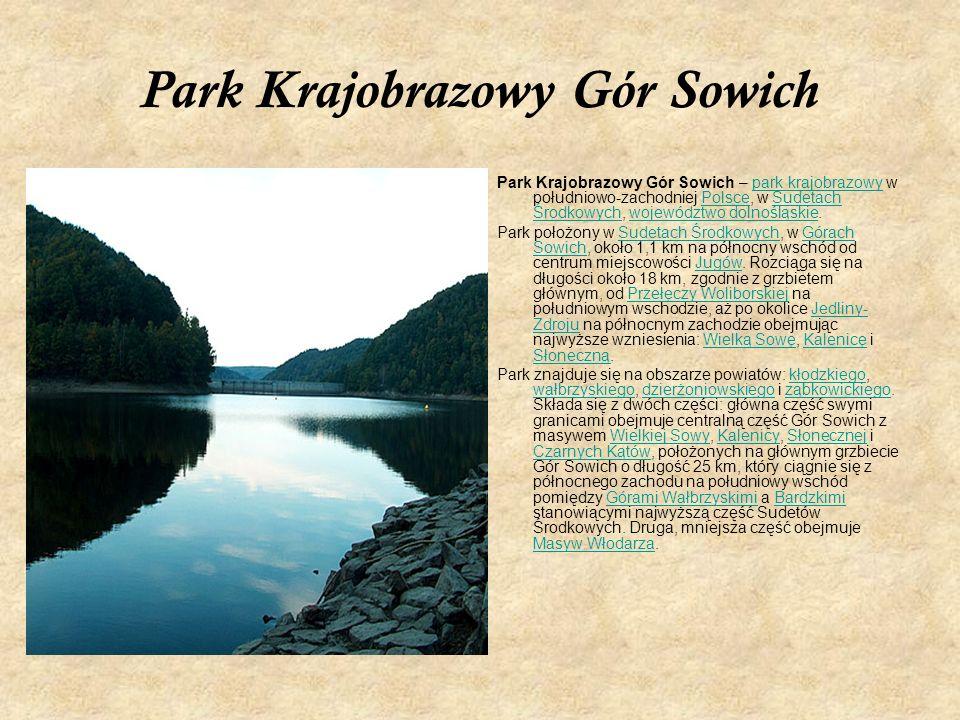 Park Krajobrazowy Gór Sowich