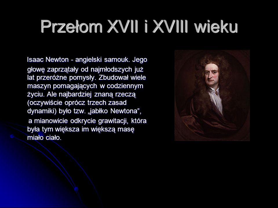 Przełom XVII i XVIII wieku