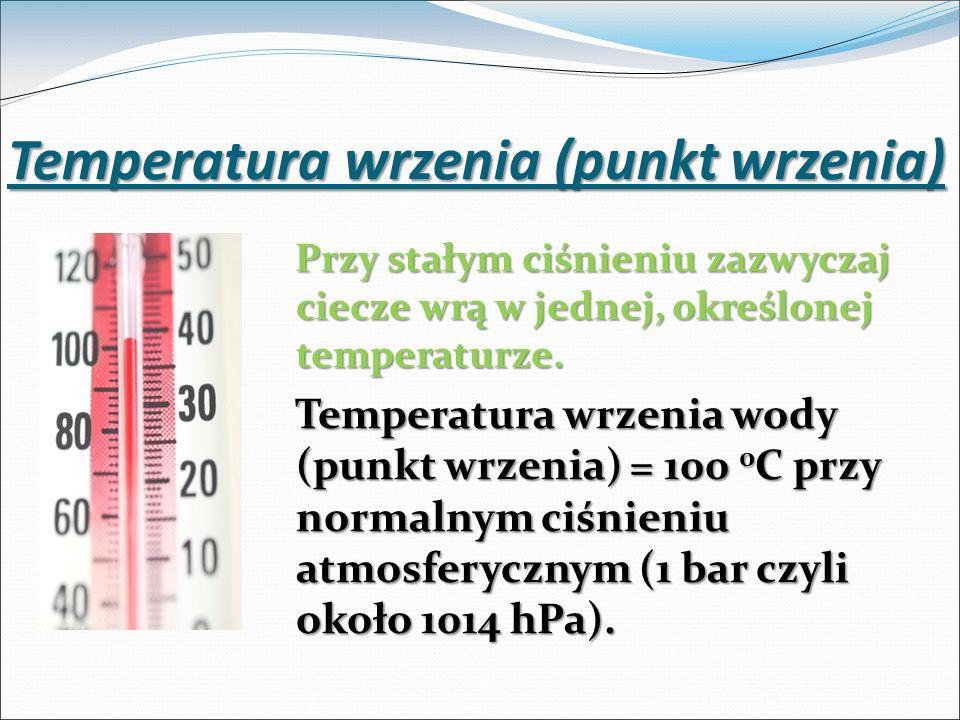 Temperatura wrzenia (punkt wrzenia)