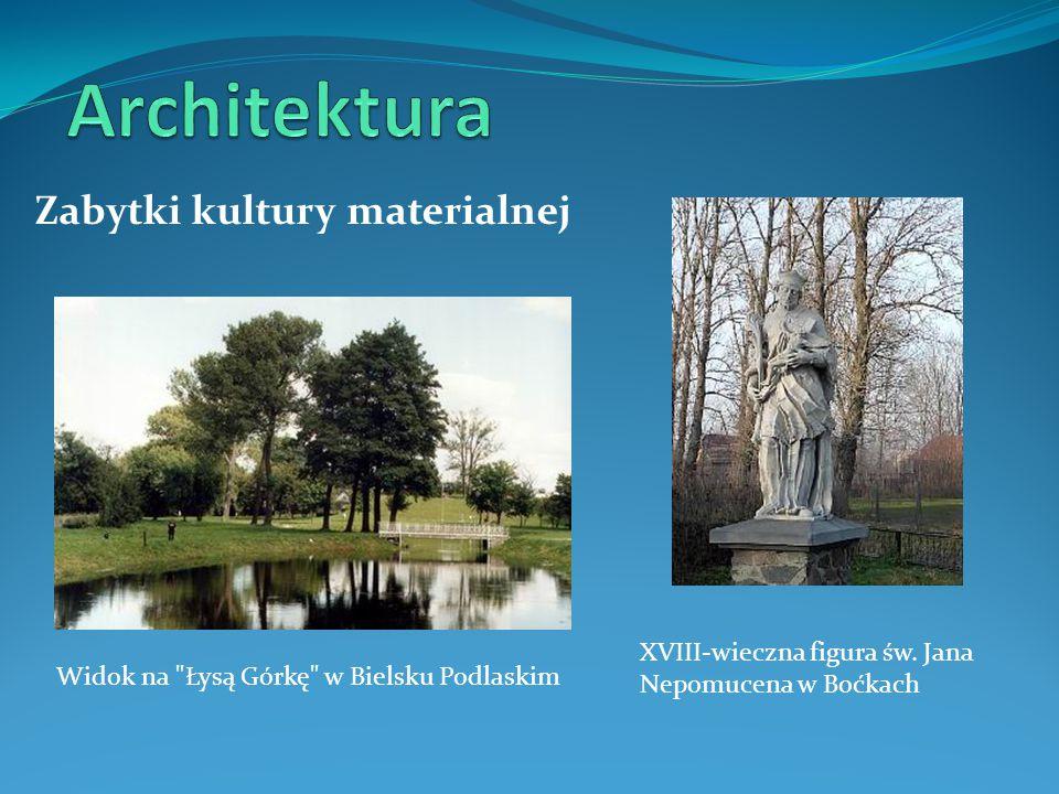 Architektura Zabytki kultury materialnej