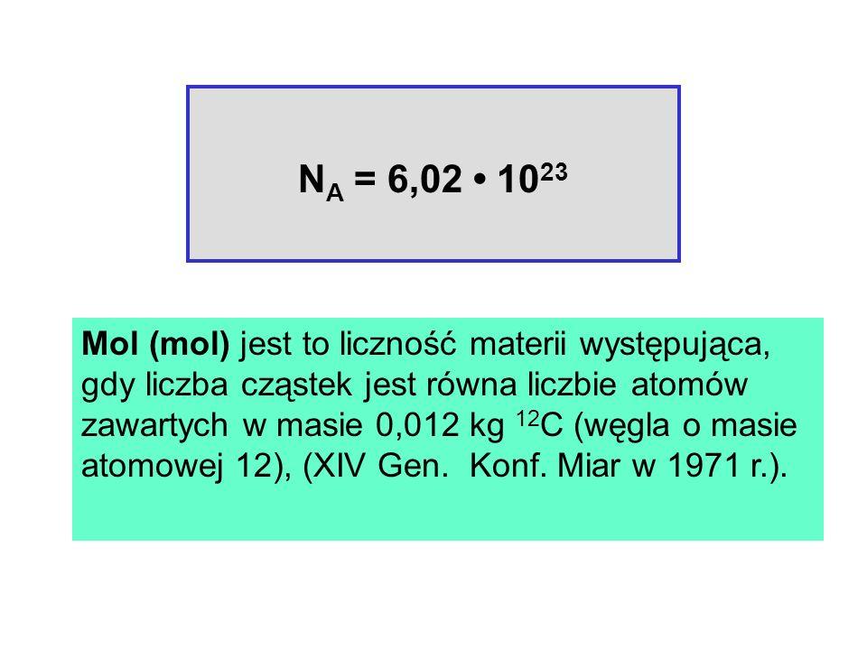NA = 6,02 • 1023
