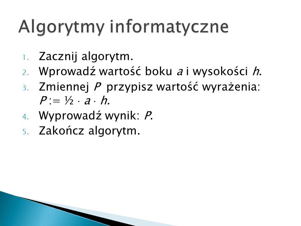Algorytmy informatyczne