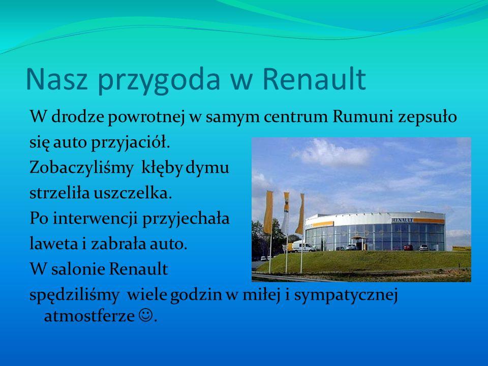 Nasz przygoda w Renault