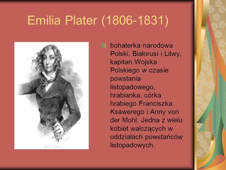 Emilia Plater (1806-1831)