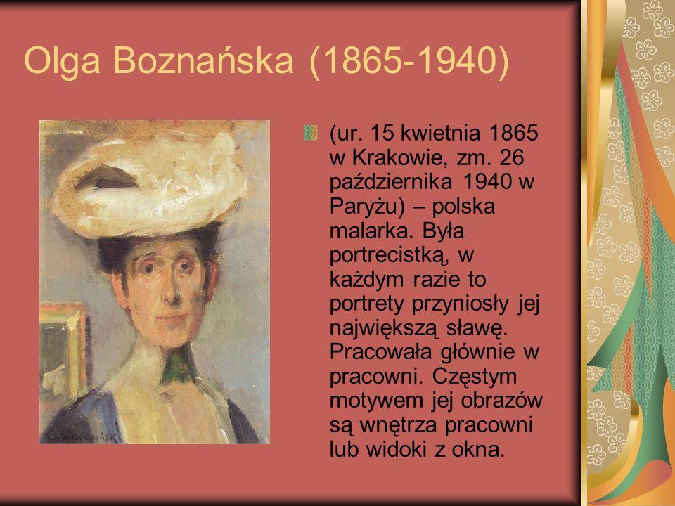 Olga Boznańska (1865-1940)