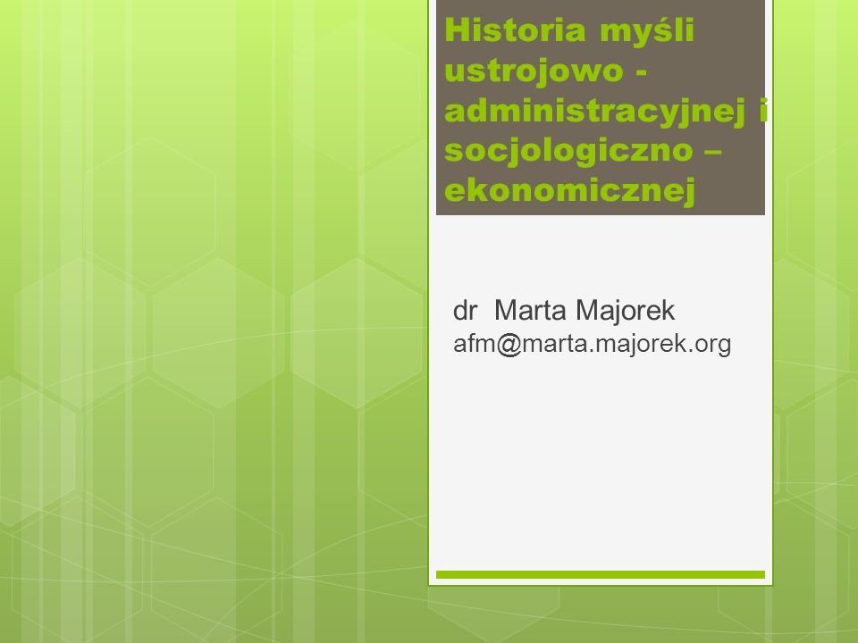 dr Marta Majorek afm@marta.majorek.org