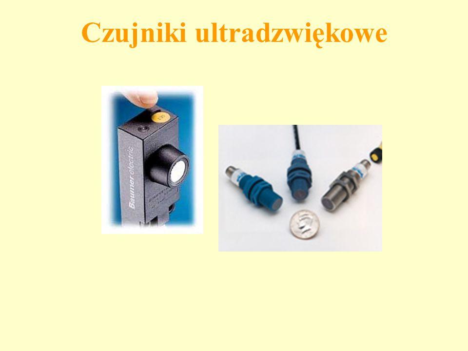 Czujniki ultradzwiękowe