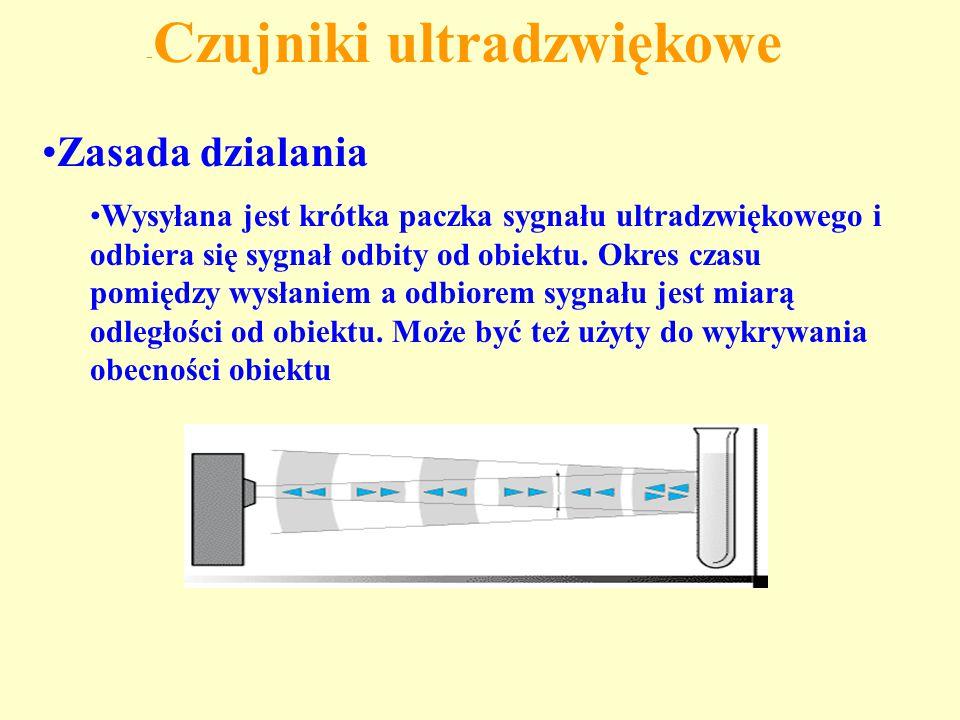 -Czujniki ultradzwiękowe