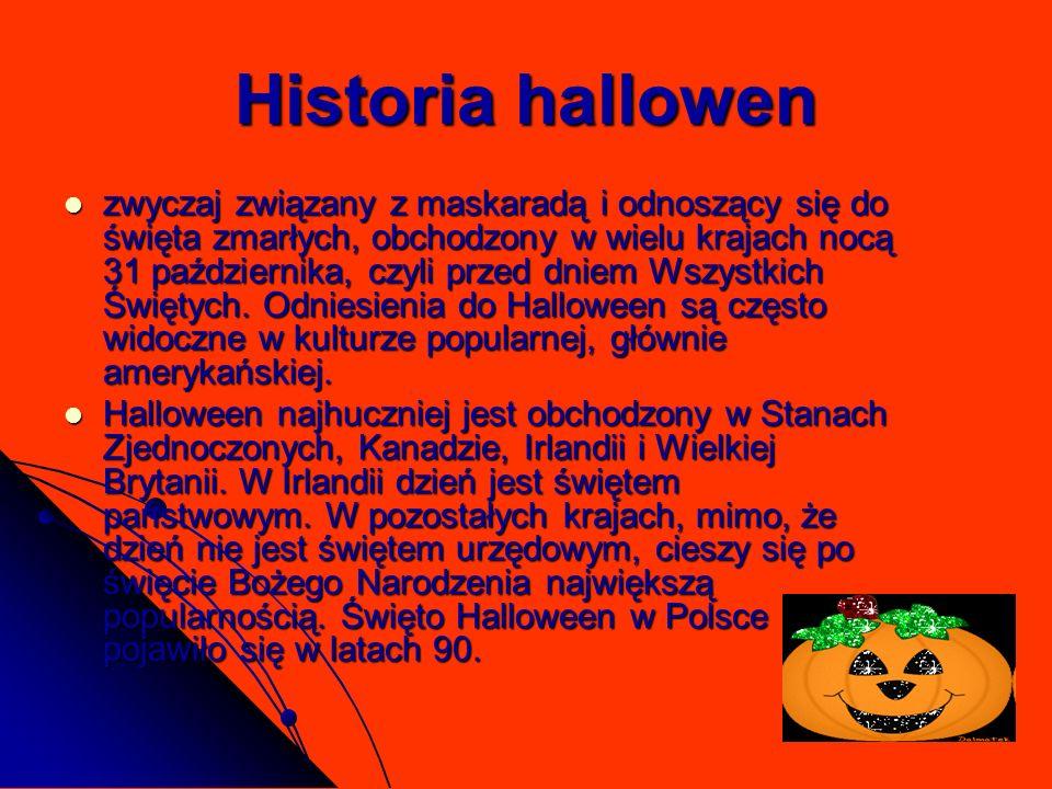 Historia hallowen