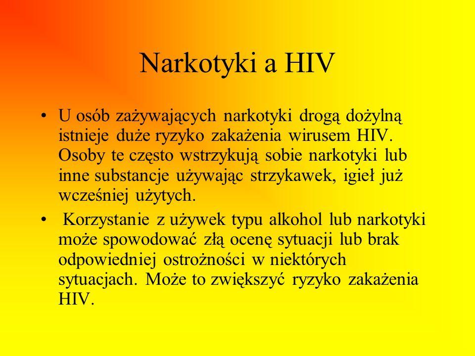 Narkotyki a HIV