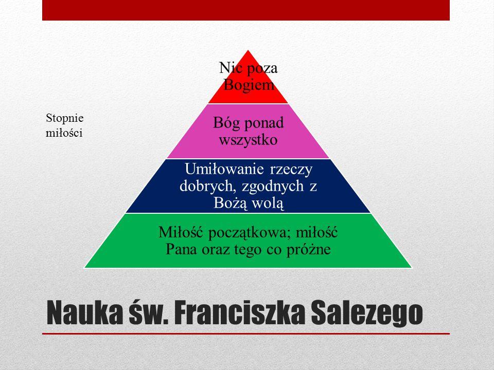 Nauka św. Franciszka Salezego