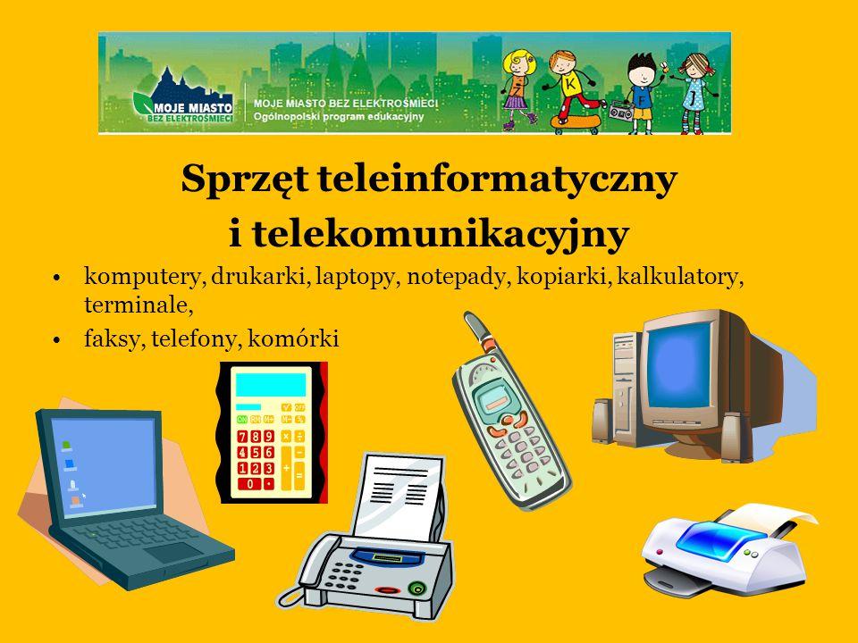 Sprzęt teleinformatyczny