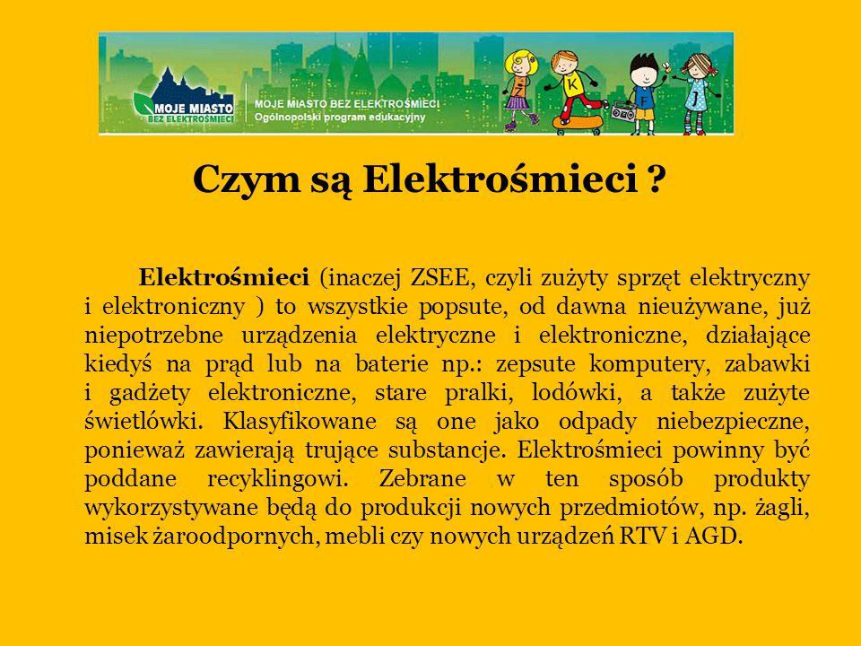 Czym są Elektrośmieci