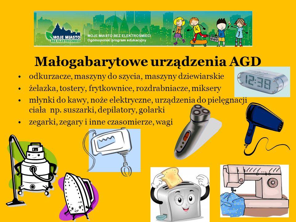 Małogabarytowe urządzenia AGD