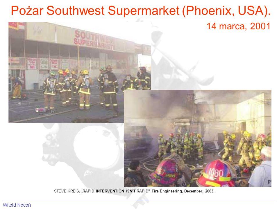 Pożar Southwest Supermarket (Phoenix, USA).