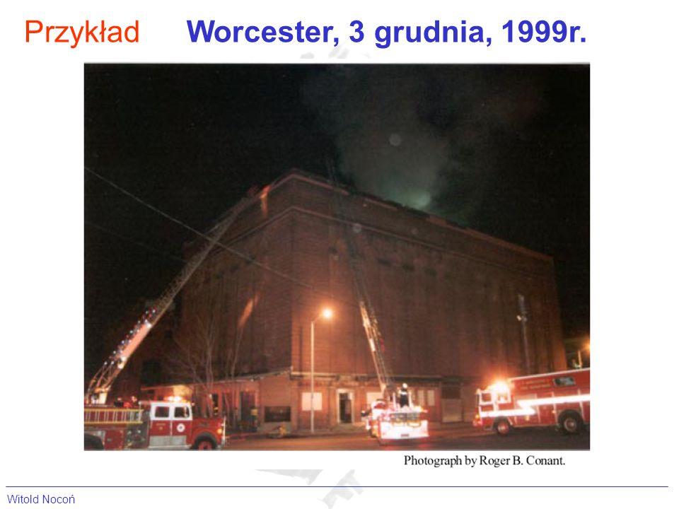 Przykład Worcester, 3 grudnia, 1999r. Witold Nocoń