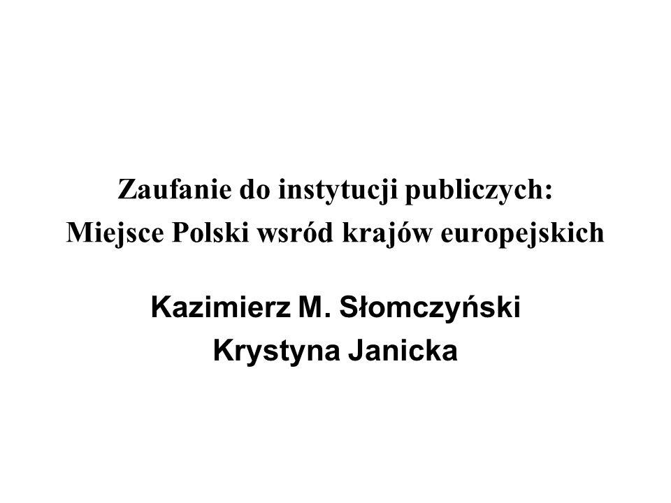 Kazimierz M. Słomczyński Krystyna Janicka
