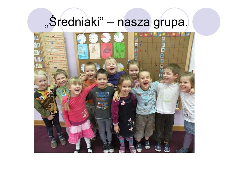 """Średniaki – nasza grupa."
