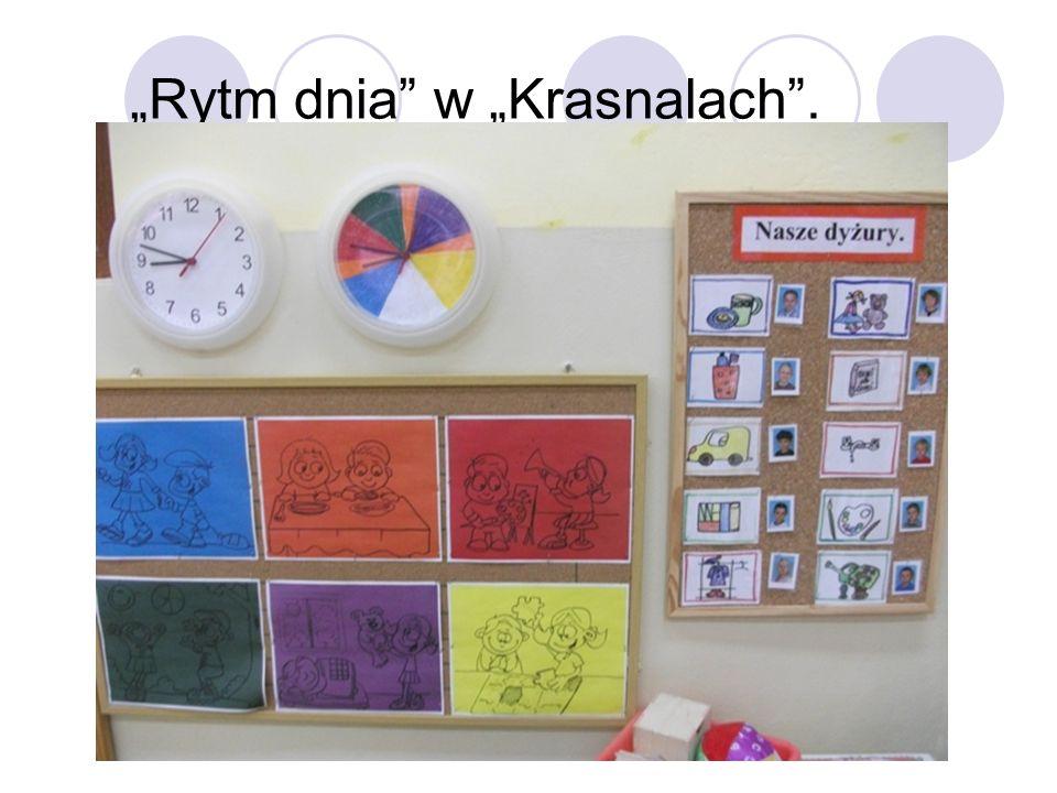 """""""Rytm dnia w """"Krasnalach ."""
