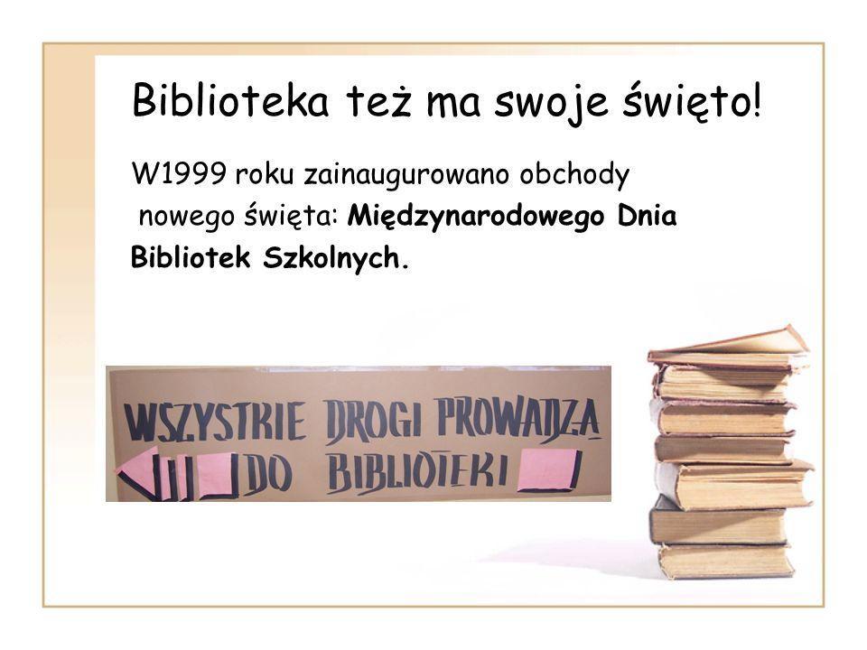 Biblioteka też ma swoje święto!