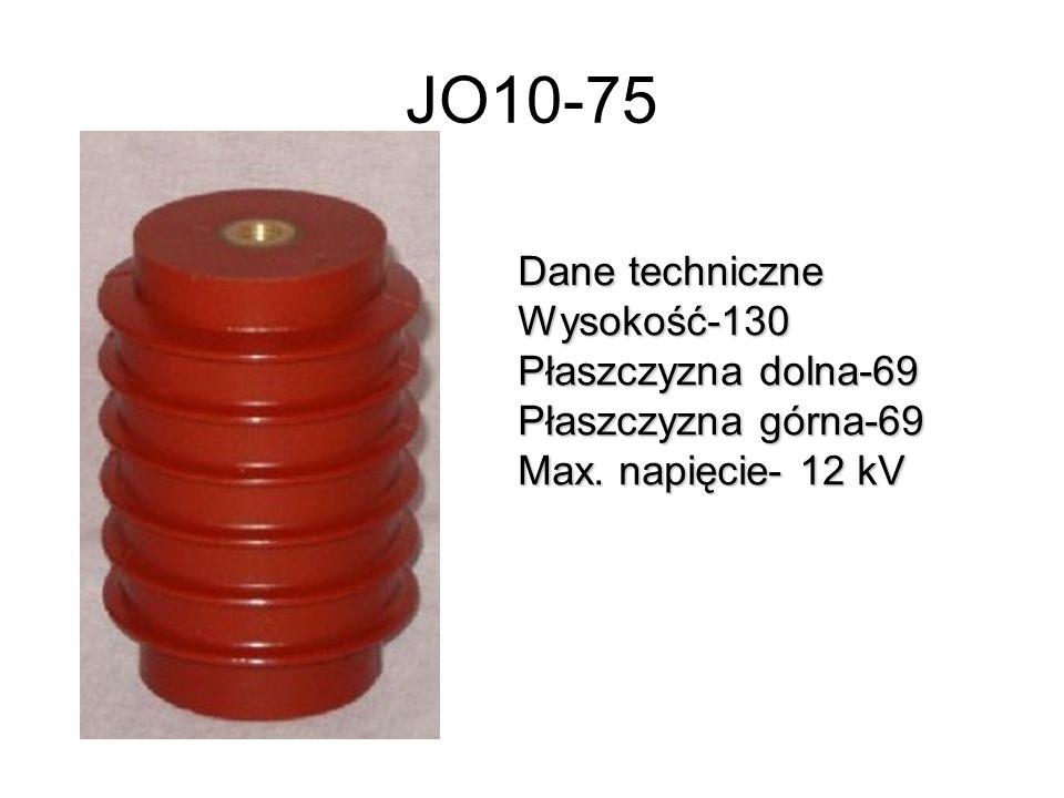 JO10-75 Dane techniczne Wysokość-130 Płaszczyzna dolna-69