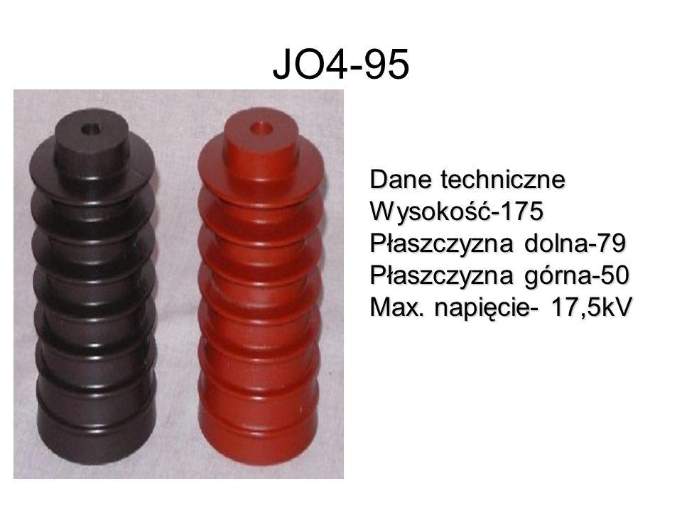 JO4-95 Dane techniczne Wysokość-175 Płaszczyzna dolna-79