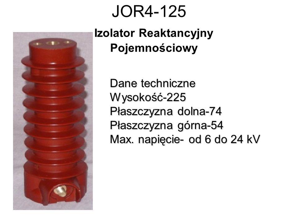JOR4-125 Izolator Reaktancyjny Pojemnościowy