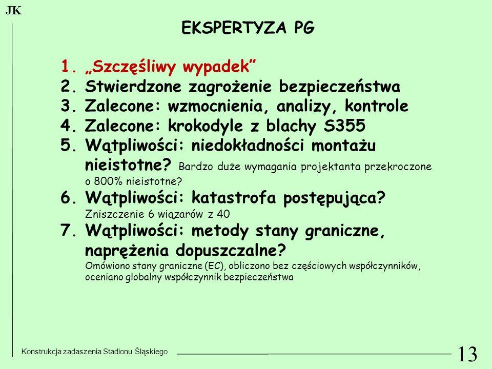 """13 EKSPERTYZA PG """"Szczęśliwy wypadek"""