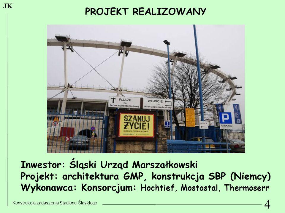 4 PROJEKT REALIZOWANY Inwestor: Śląski Urząd Marszałkowski