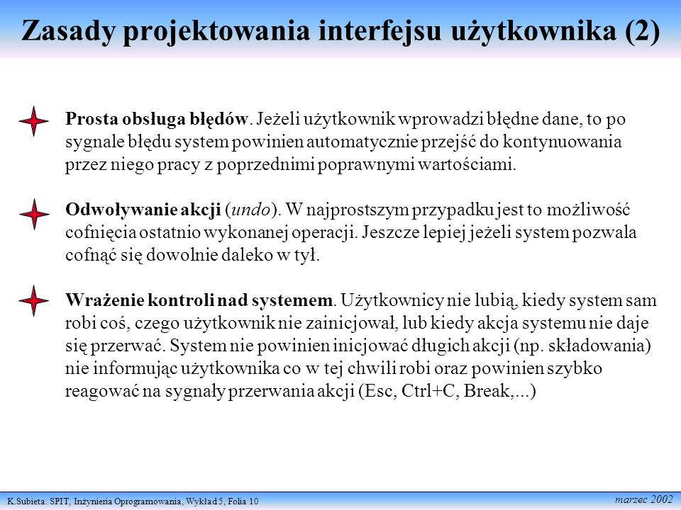 Zasady projektowania interfejsu użytkownika (2)