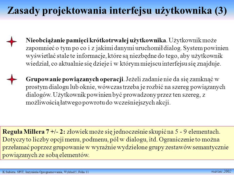 Zasady projektowania interfejsu użytkownika (3)