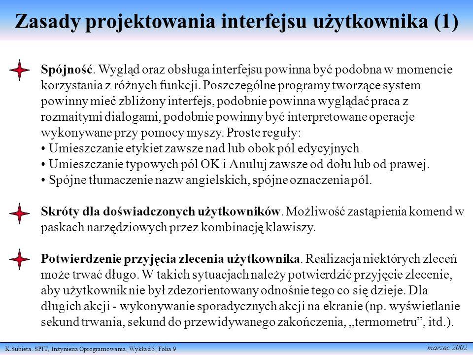 Zasady projektowania interfejsu użytkownika (1)