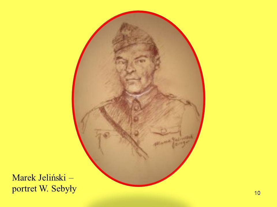 Marek Jeliński – portret W. Sebyły