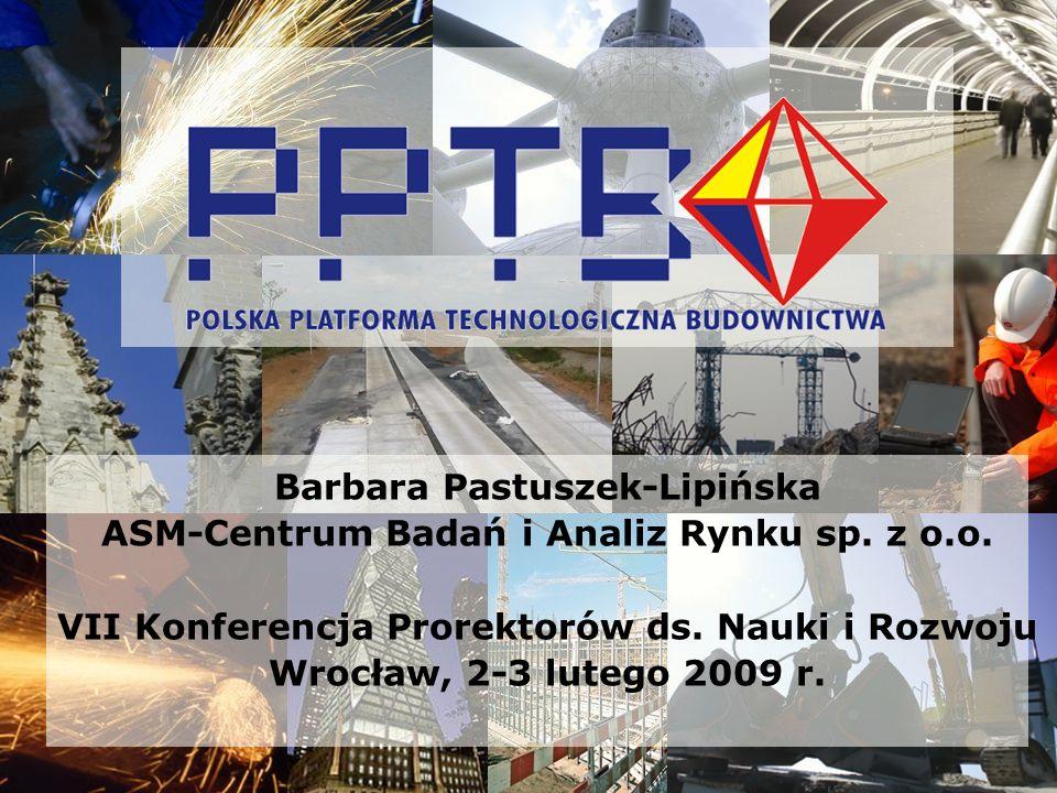 Barbara Pastuszek-Lipińska ASM-Centrum Badań i Analiz Rynku sp. z o.o.