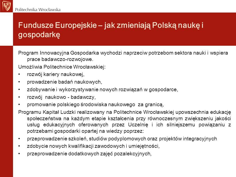 Fundusze Europejskie – jak zmieniają Polską naukę i gospodarkę