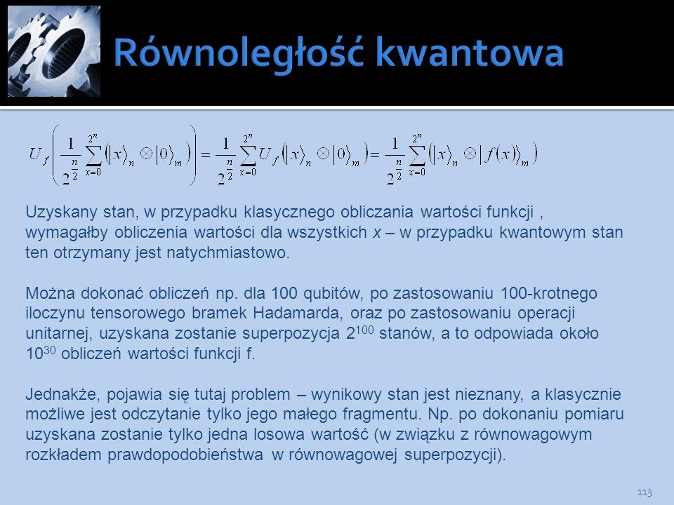 Równoległość kwantowa