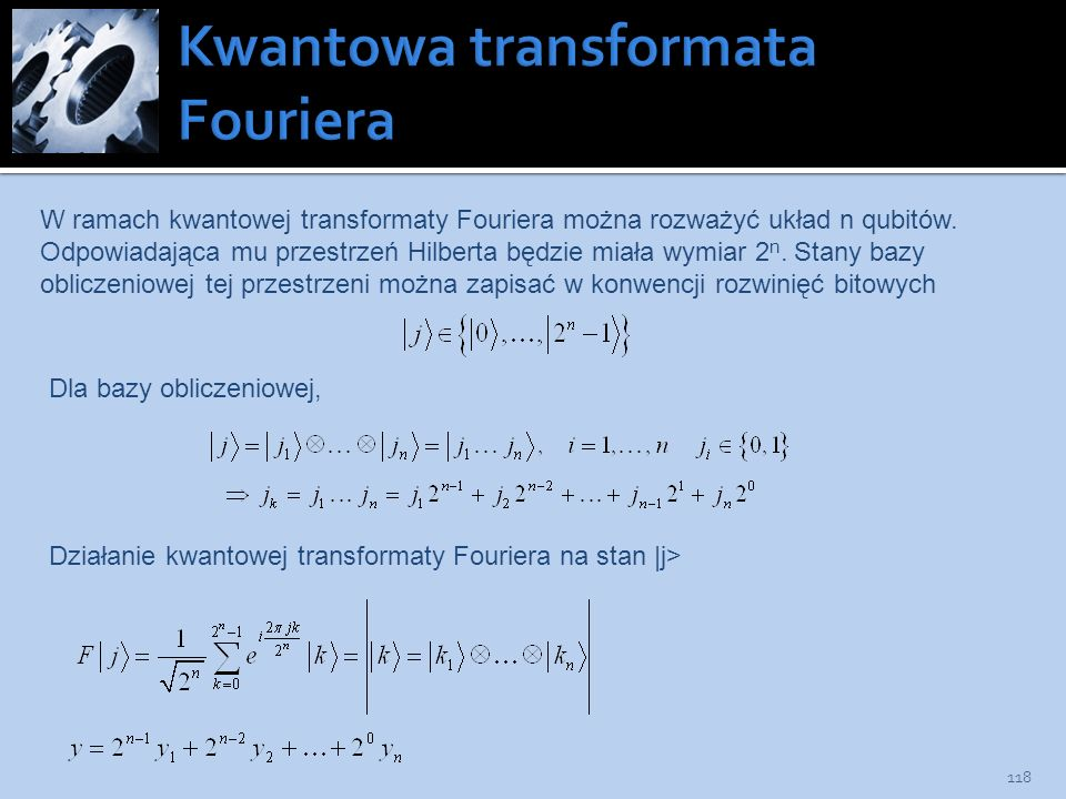 Kwantowa transformata Fouriera