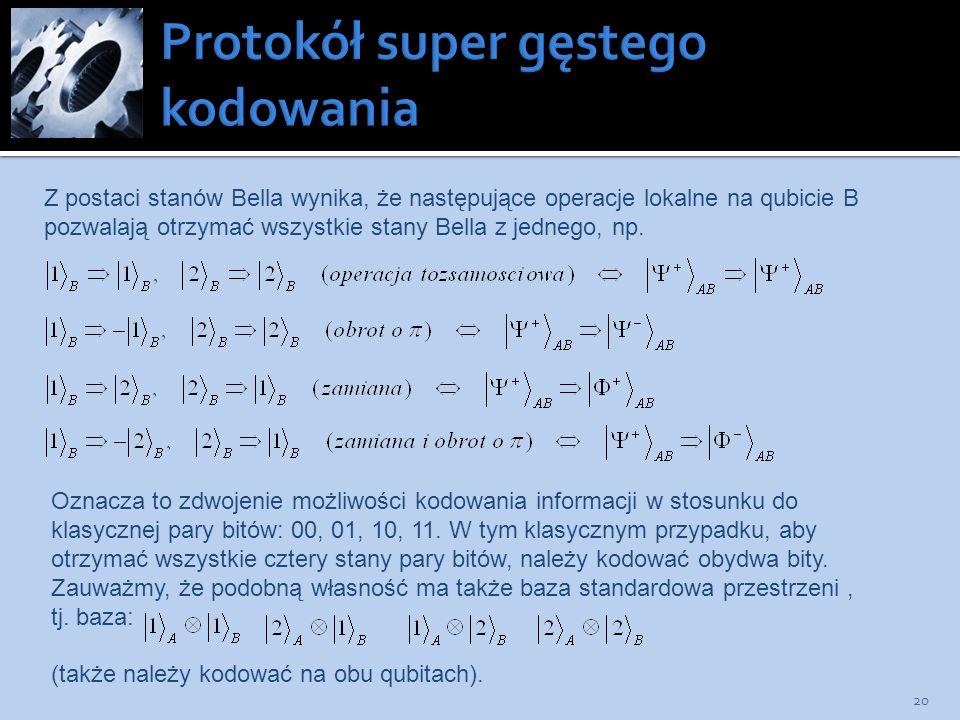 Protokół super gęstego kodowania