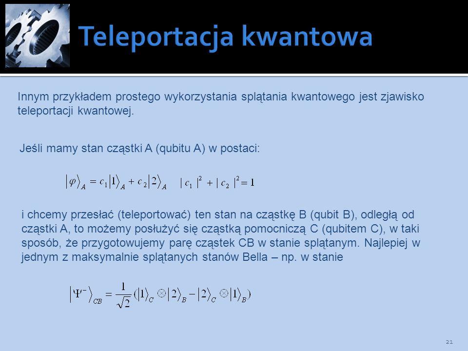 Teleportacja kwantowa