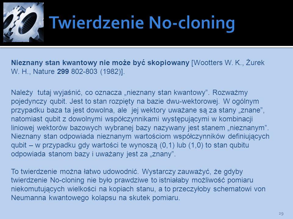 Twierdzenie No-cloning