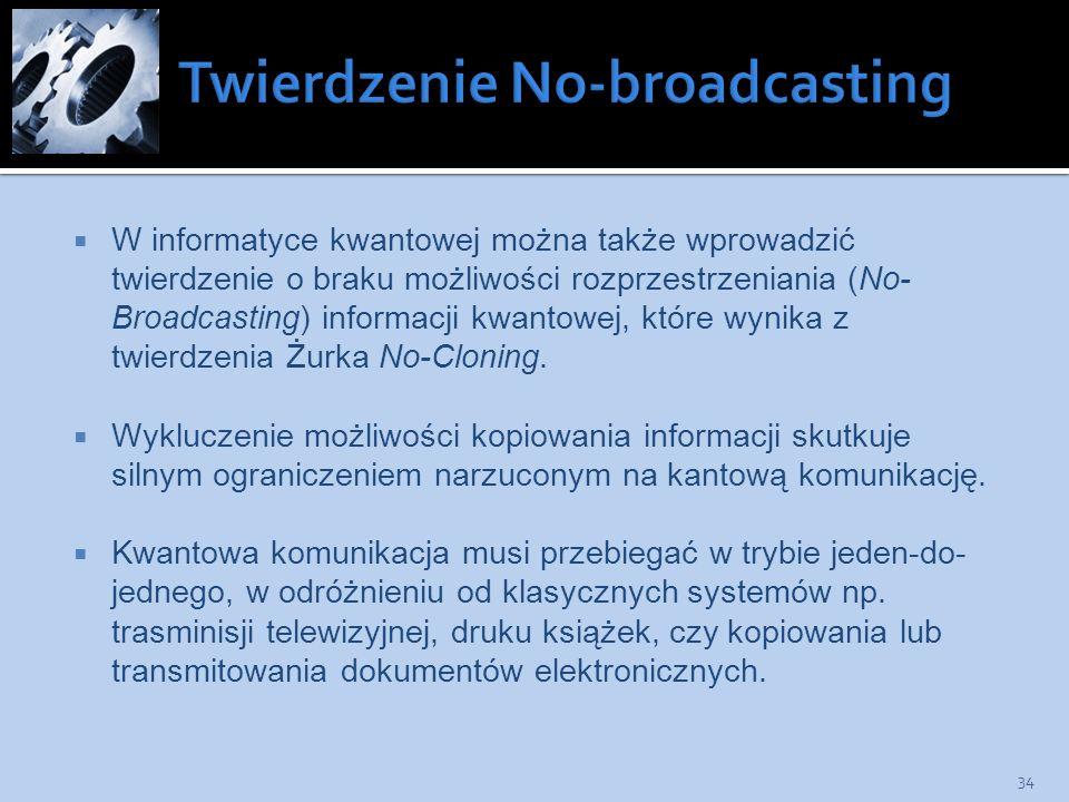 Twierdzenie No-broadcasting