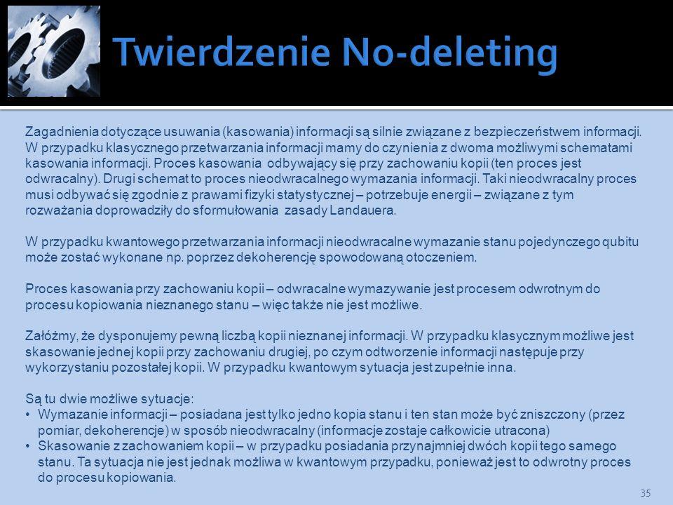 Twierdzenie No-deleting