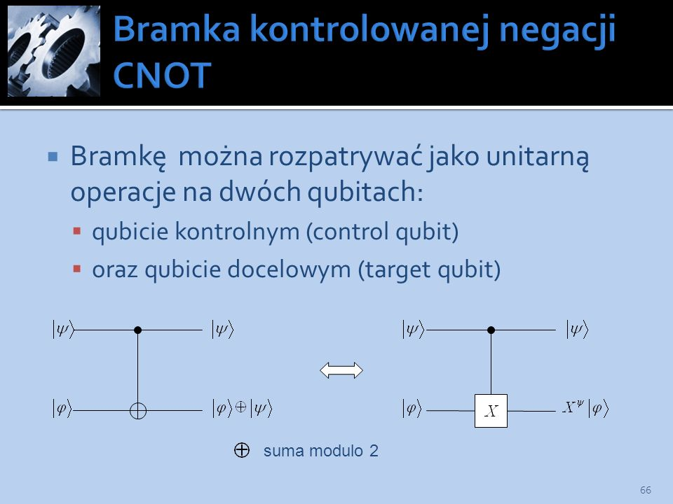 Bramka kontrolowanej negacji CNOT