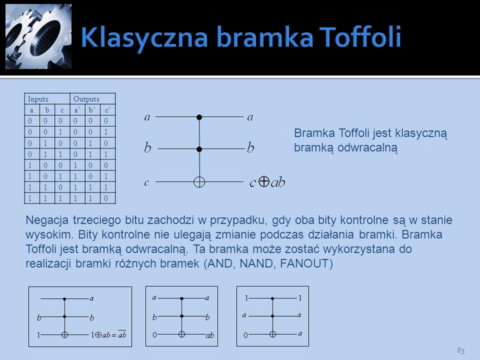 Klasyczna bramka Toffoli