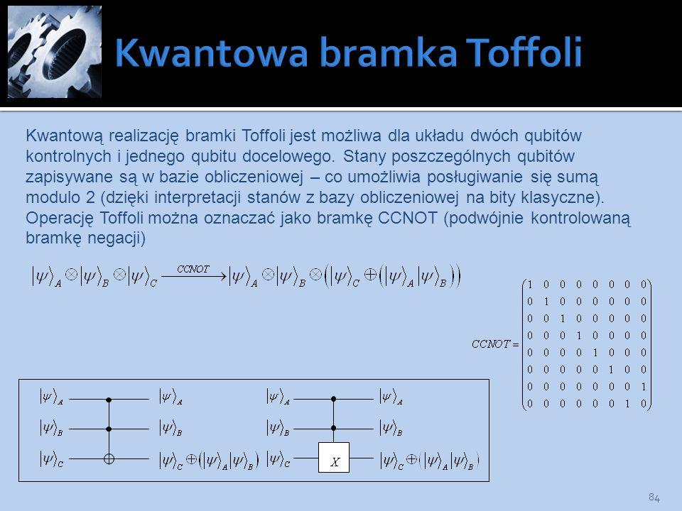 Kwantowa bramka Toffoli