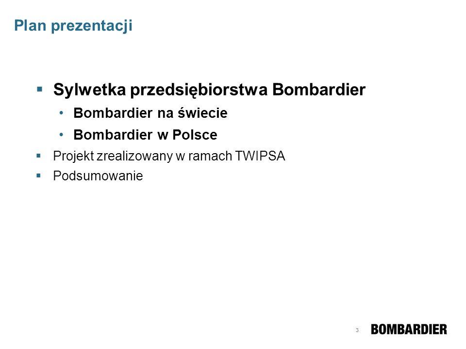 Sylwetka przedsiębiorstwa Bombardier